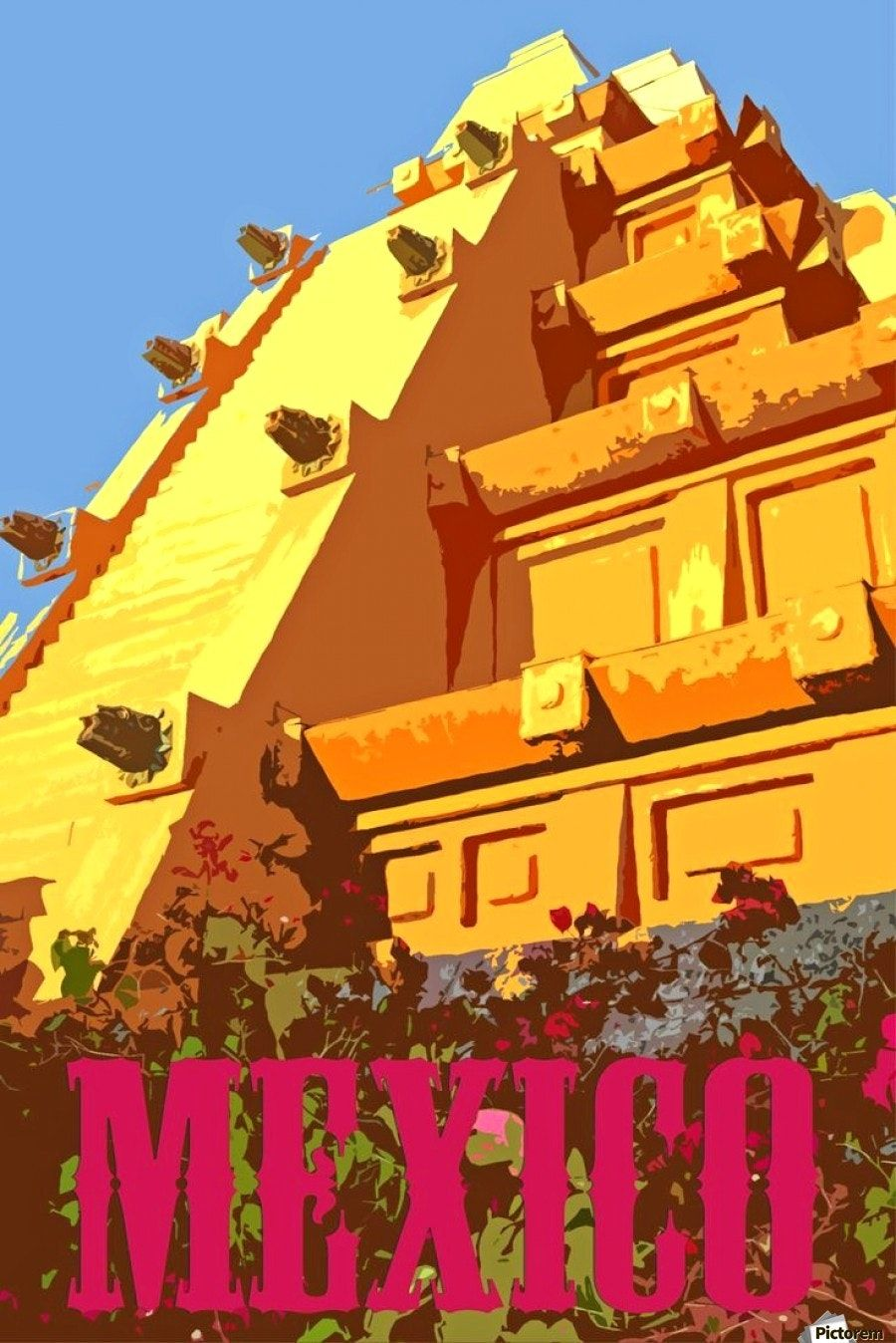 Wonderful Vintage Mexico Travel Poster And Nice Ideas Of City Vintage Travel Poster Posters 5 Best Poster Vintage Travel Posters Mexico Travel Travel Posters