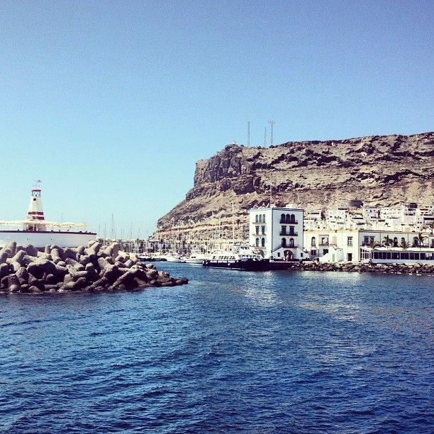 Puerto Mogan, Gran Canaria. - @vic_latorre- #webstagram