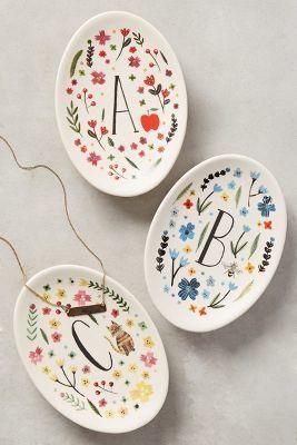Bridesmaid gift idea - personalized decorative plates Courtesy of Shopstyle & Bridesmaid gift idea - personalized decorative plates Courtesy of ...