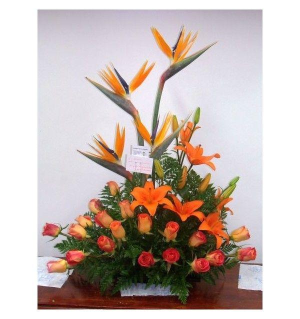 imagenes arreglos florales exoticos - Buscar con Google funeral