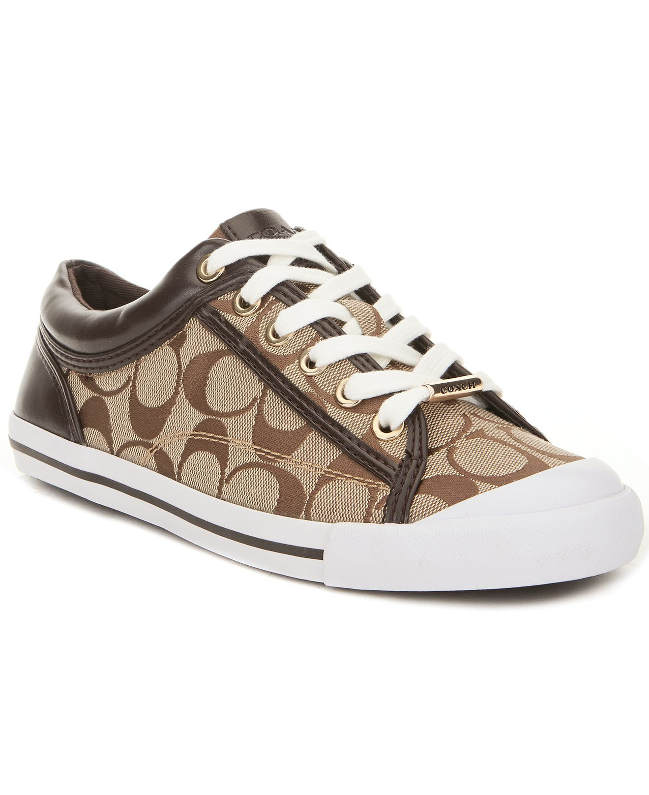 be8148bfc3d COACH FRANCESCA SNEAKER - Coach Shoes - Handbags   Accessories - Macy s