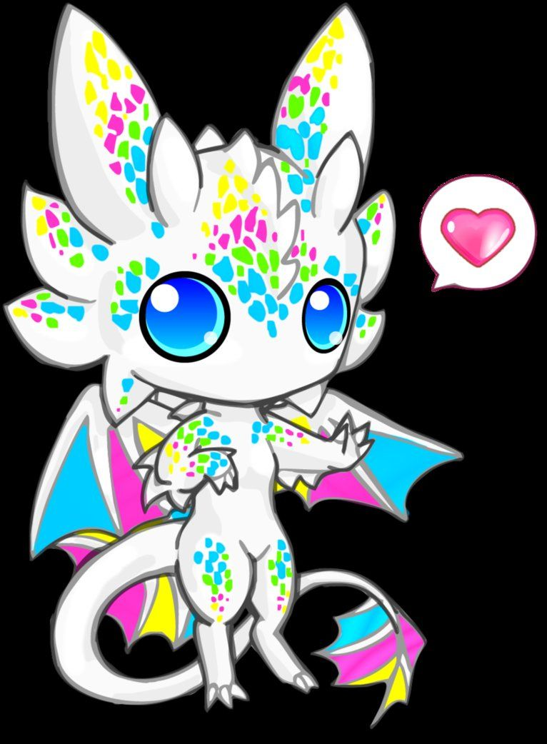 Stellar Radiances Drogon Milky Rainbow A Very Helpful In Her Studies Chibi Dragon Cute Dragons Chibi