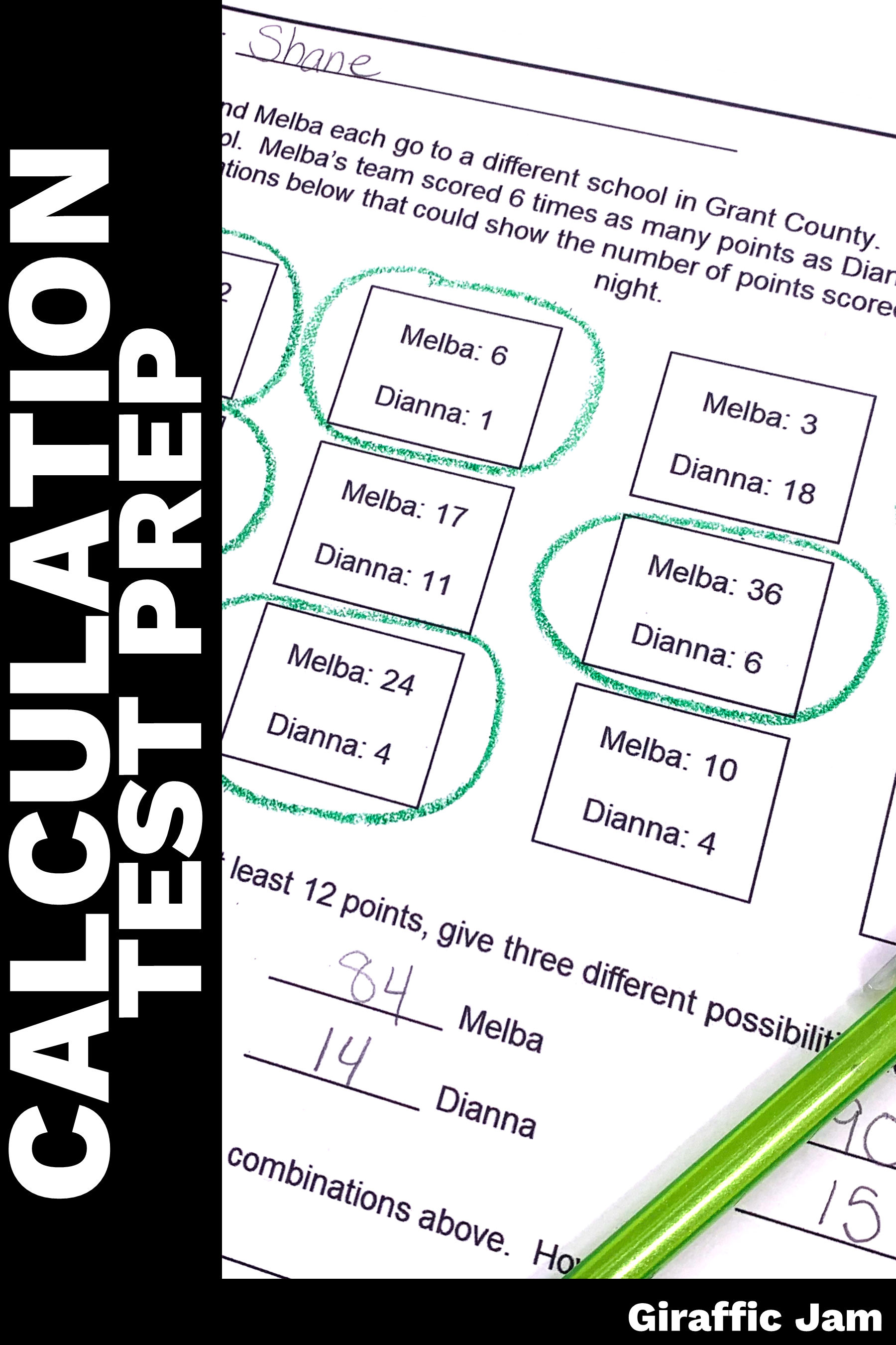 Algebraic Thinking 4th Grade Worksheets   Printable Worksheets and  Activities for Teachers [ 2700 x 1800 Pixel ]