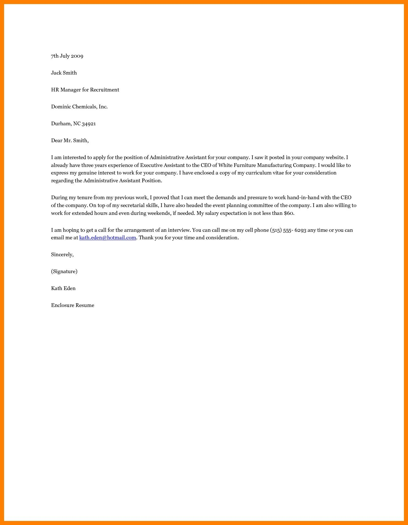 25 Office Assistant Cover Letter Cover Letter Example Resume