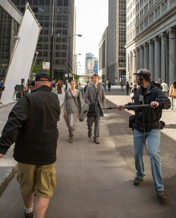 10 Brand New BTS Photos from Divergent Filming! - DIVERGENT Fansite