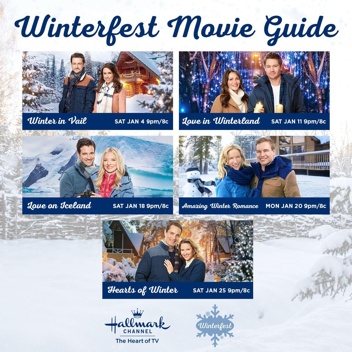 Winterfest is here! Download the Hallmark Movie Checklist