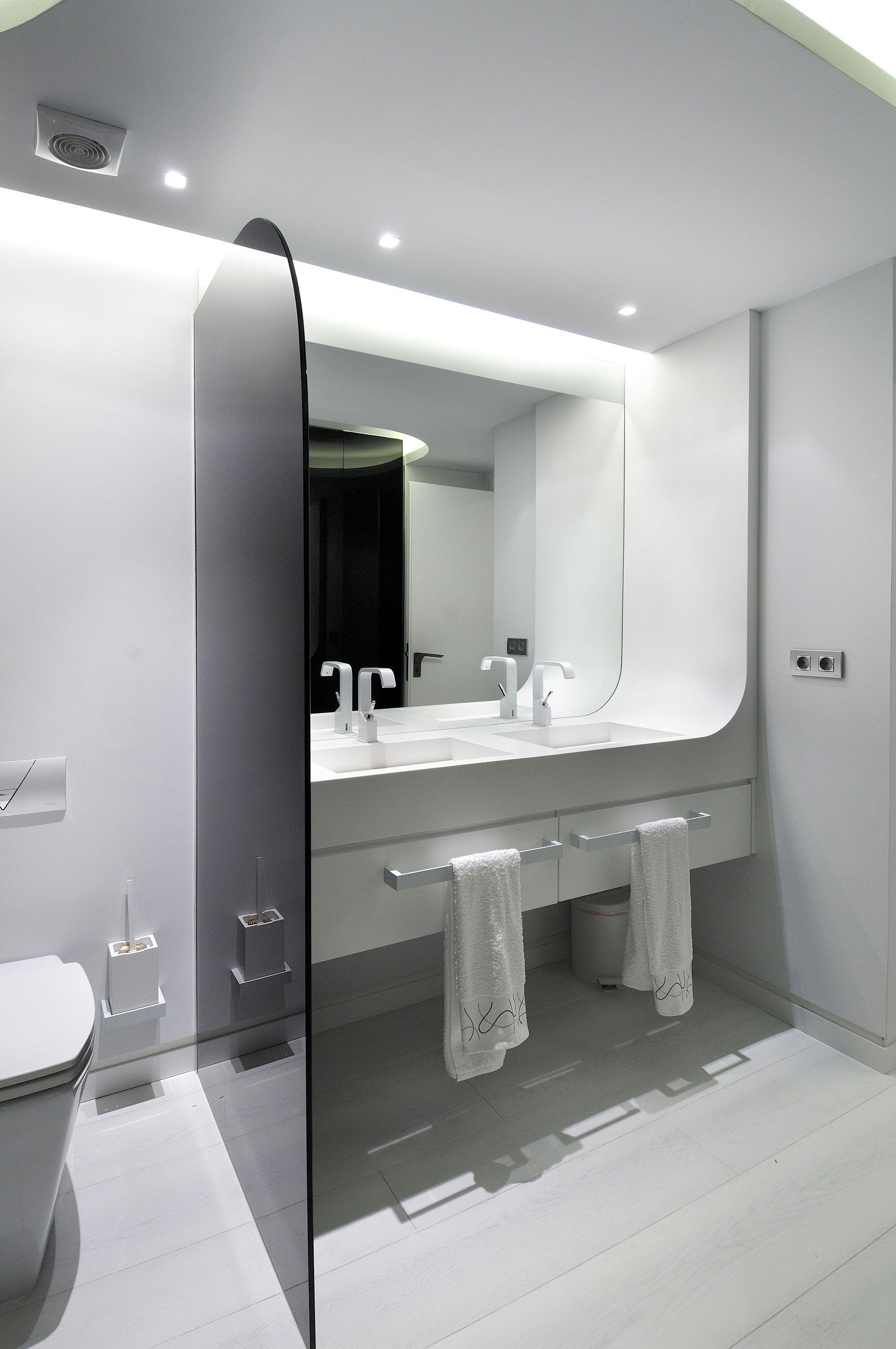 Galería de reforma duplexok a cero 17 white apartment apartment interior