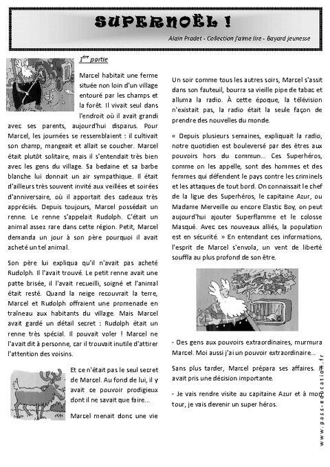 Alain Pradet  Super Nol   PrimaireFranais   Contes Et