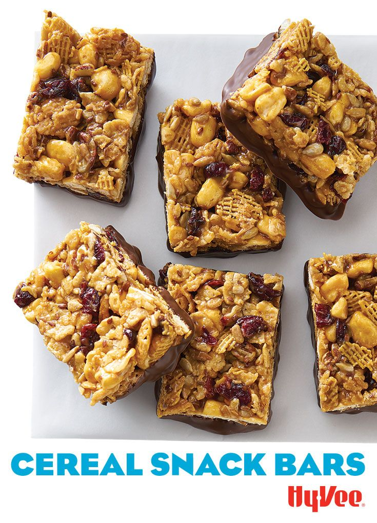 Cereal snack bars recipe cereal snacks and bar cereal snack bars ccuart Choice Image