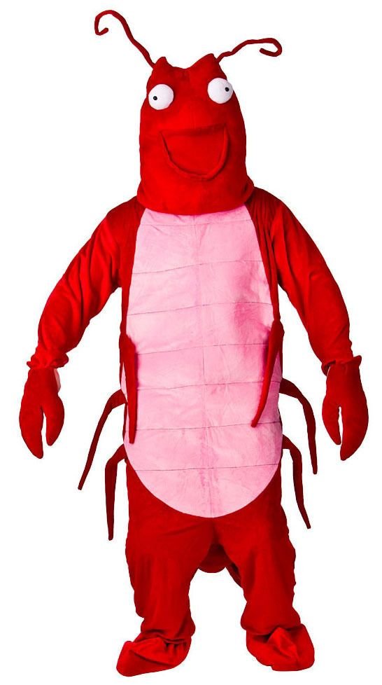 Larry the Lobster Sea Fish CHARITY FUN RUN STAG DO MASCOT FANCY ...