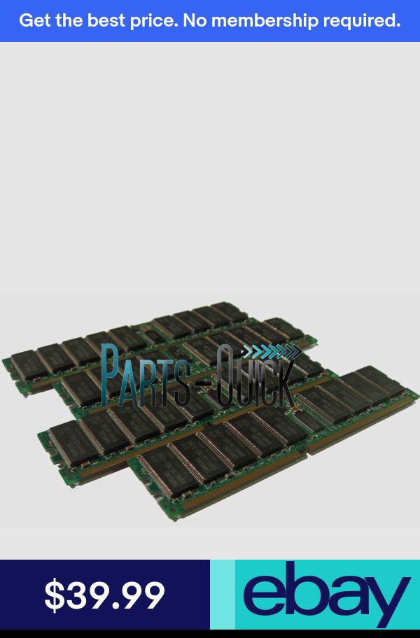 8GB Kit 4x 2GB DDR PC2100 HP Integrity RX1600 RX1600-2 DIMM RAM Server Memory