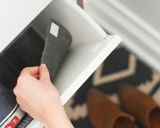 install weatherproof liner to ikea shoe cabinet | Living Room ...