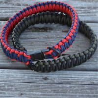 How to make a paracord dog collar | Instructions What is paracord? There are so many fun paracord projects out there. Right now, our favorite one is this DIY paracord dog collar. It's the ultimate dog collar made with about 40ft of 550 paracord. This paracord dog collar is your best bet if