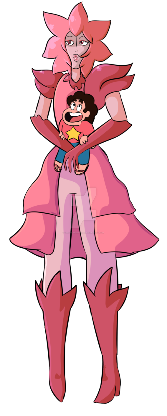 steven_and_lion__pink_diamond__by_gothicmonocle-dafyhz3.png (567×1406)