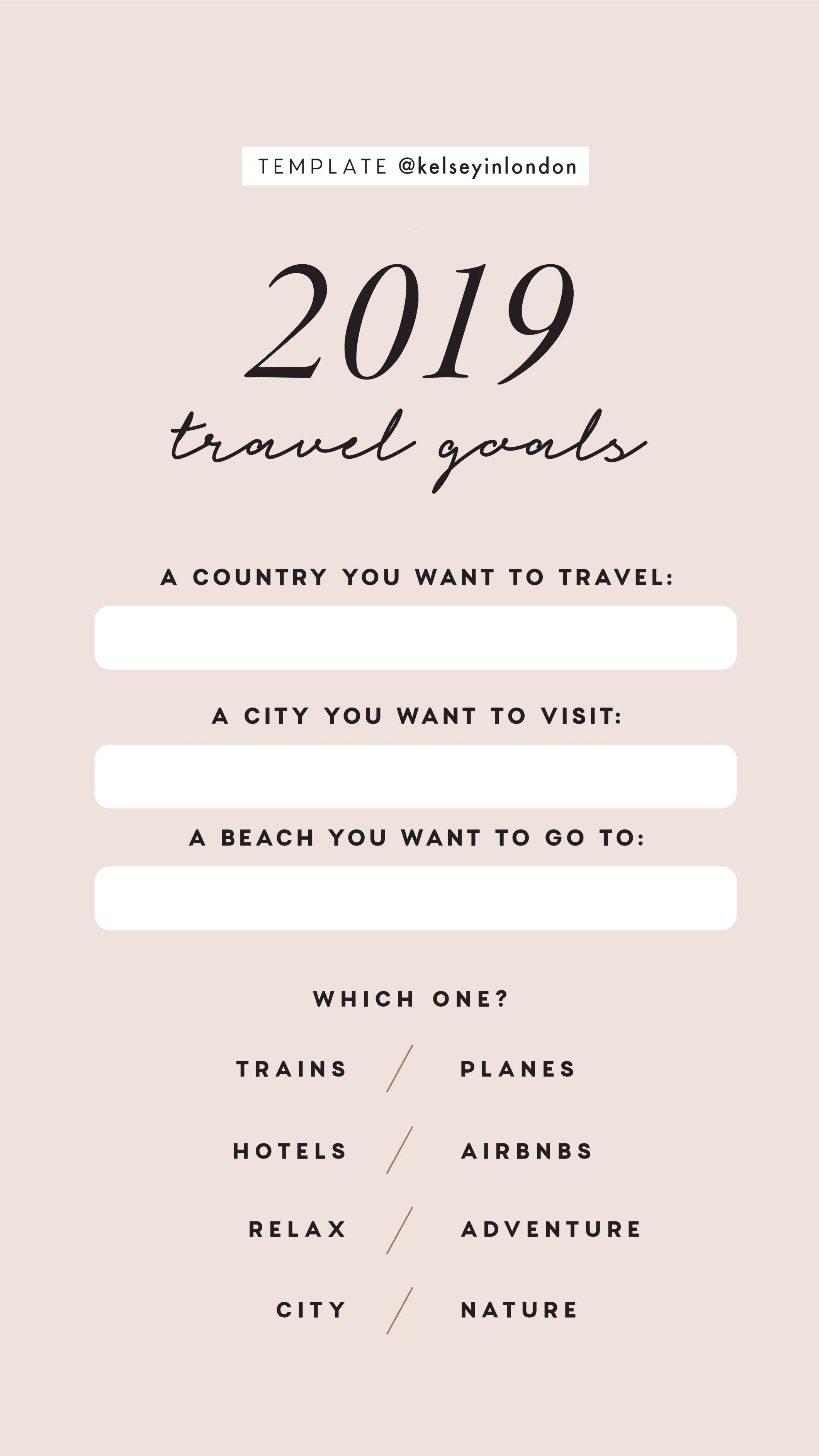 Kelsey Heinrichs Kelseyinlondon Instagram Story Templates New Year S Resolutions New Year Bucketlist Instagram Story Template Story Template New Year Captions
