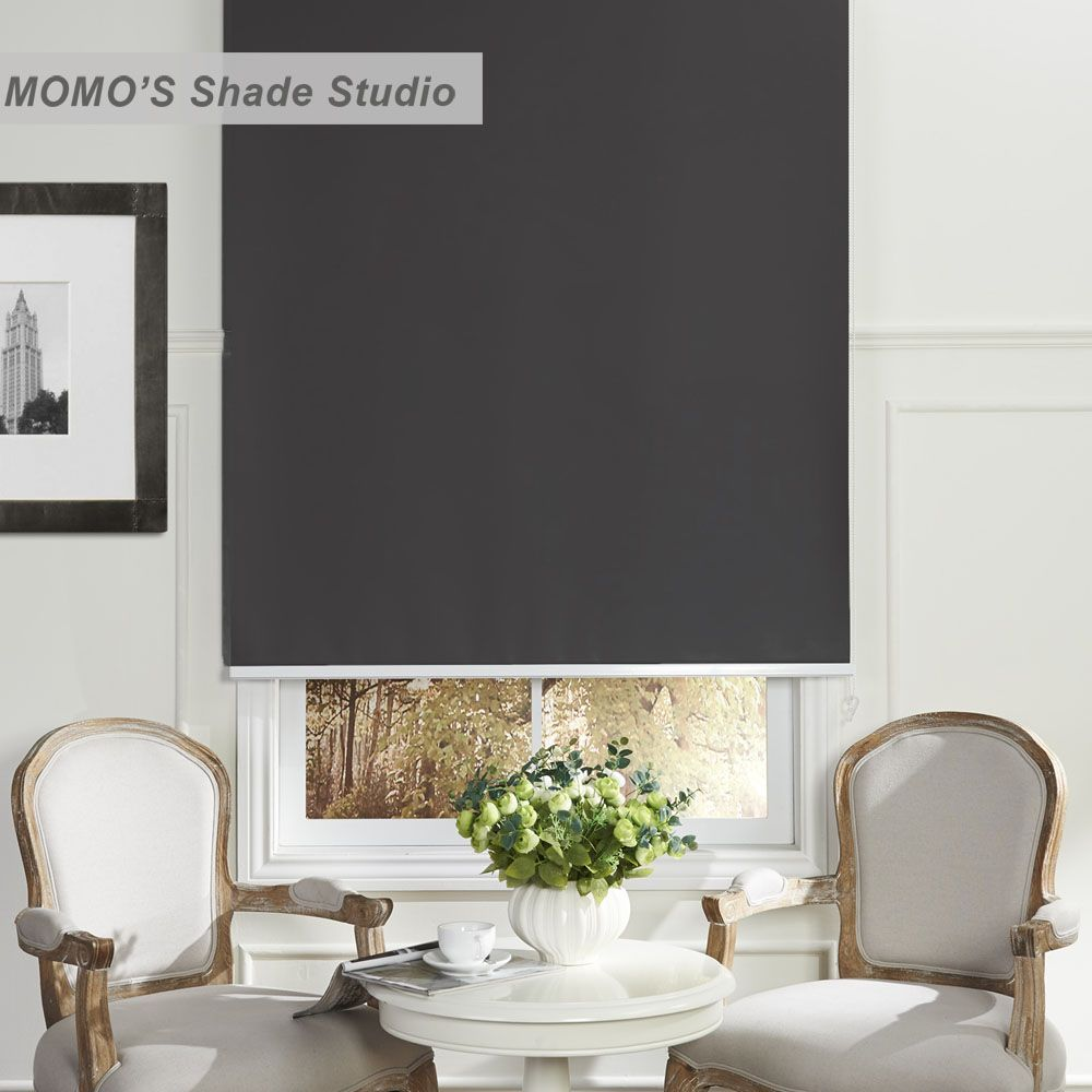 Momo Window Curtains Roller Shades Blinds Thermal Insulated Blackout Waterproof Fabric Custom Size Curtainsanddrapes Window Roller Shades Shades Blinds Roller Shades
