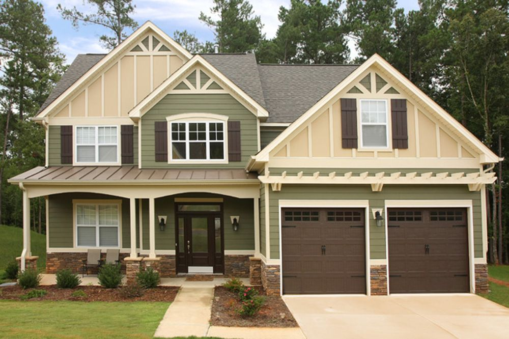 Vertical Vinyl House Siding To Learn More About This And Other James Hardie Fiber Cement Siding House Siding House Exterior Exterior House Colors
