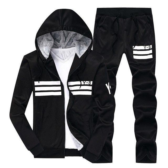 75510f4010 New Men's Thicken Baseball Suit Designer Printing Plus Size Winter ...