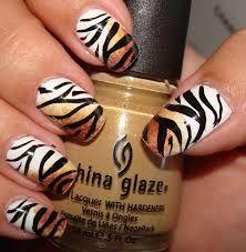 Unhas De Tigre Pesquisa Google Nails Pinterest