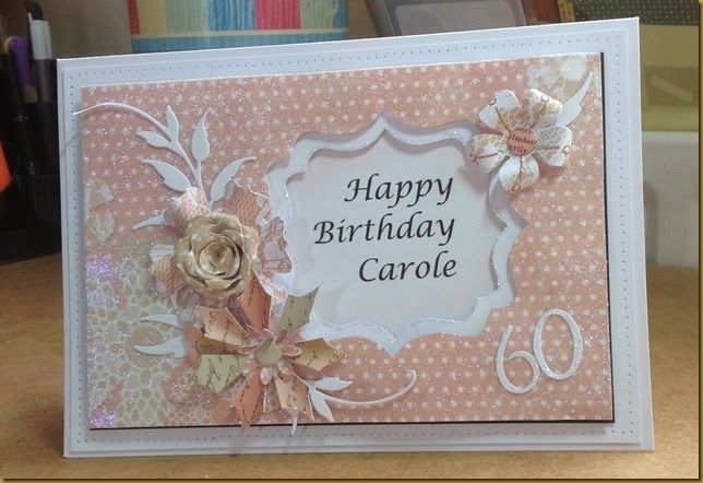 60th Birthday Card Ideas Stampin Up Google Search 60th Birthday Cards Birthday Cards Handmade Birthday Cards