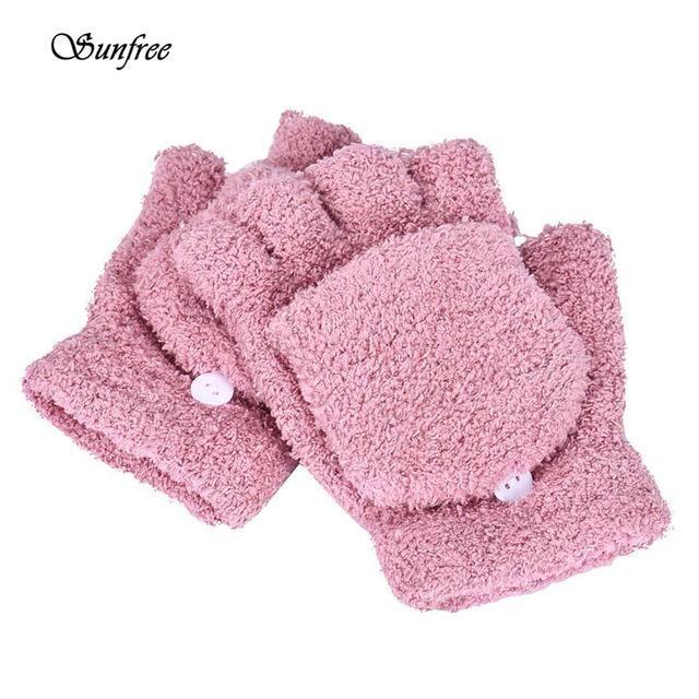 662f2731707 Sunfree 2016 Hot Sale Fashion Girls Women Ladies Hand Wrist Warmer Winter  Fingerless Gloves Mitten Brand New High-Quality Nov 24