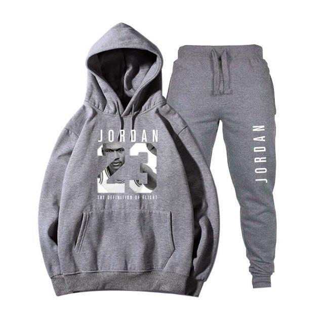 low priced 14c66 e526b Brand Tracksuit Fashion JORDAN 23 Men Sportswear Two Piece Sets All  Cottonheavengifs Jordan 23, Jogger