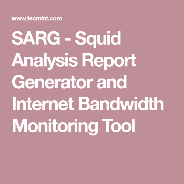 Analysis Report Format Fair Sarg  Squid Analysis Report Generator And Internet Bandwidth .