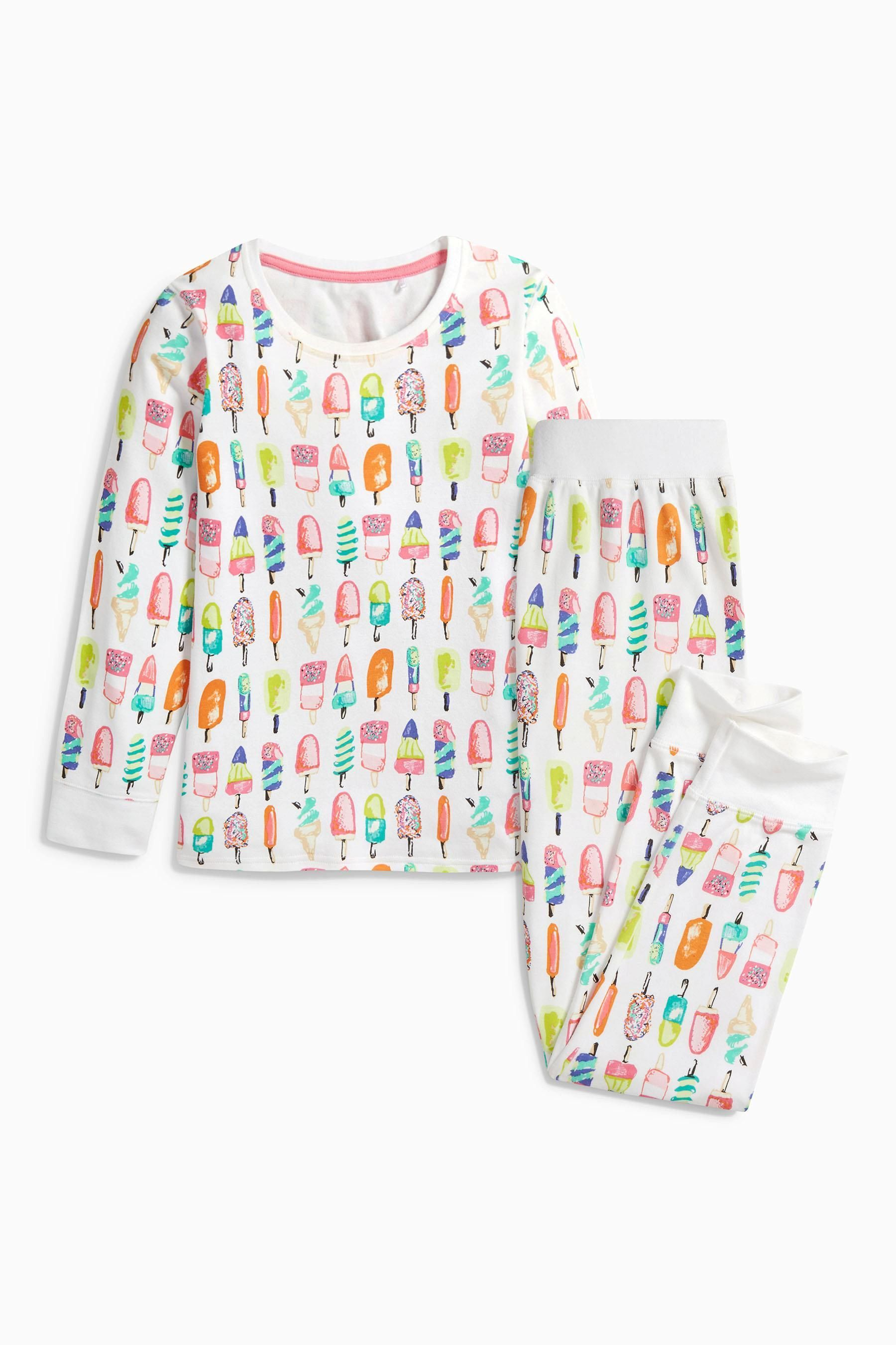 Buy White Lolly Printed Pyjamas (212yrs) from the Next UK