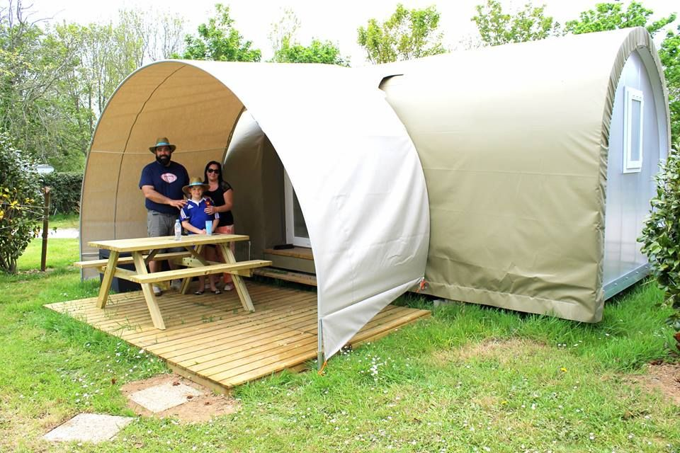 Les nouveaux hébergements Coco Sweet ont accueilli leurs premiers vacanciers au camping du goulet à Brest http://www.campingdugoulet.fr/location-mobil-homes/coco-sweet-4-personnes.html #camping #Brest #Finistere #location #hebergement #insolite #cocosweet #vacances