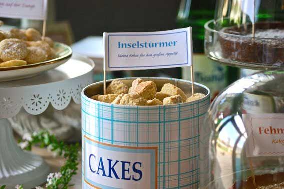 Inselstürmer. Einfach Kekse super lecker. Rezept bei uns im Blog.