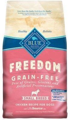 BLUE BUFFALO DOG DRY - FREEDOM SMALL BREED CHICKEN - 4LB - BLUE BUFFALO COMPANY - UPC: 859610006816 - DEPT: BLUE BUFFALO