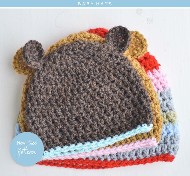 adorable bear & baby hats for premies, newborns, and infants ...