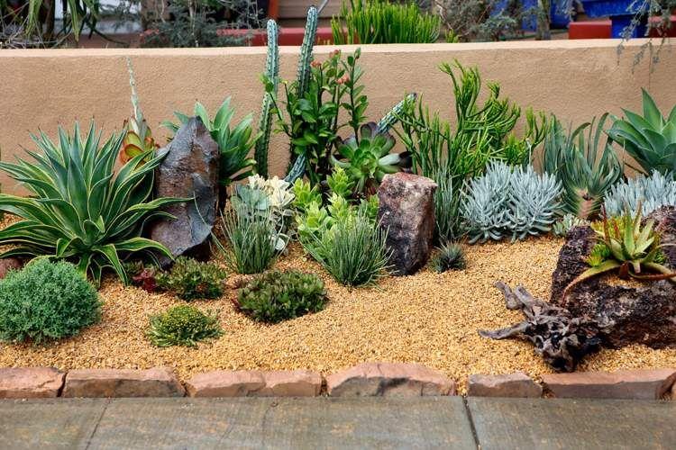 Idées d\'aménagement jardin sans entretien -conseils utiles | Wall ...
