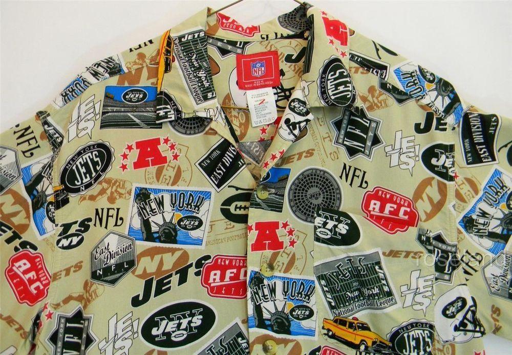 4cb10709f Camp shirts · New York Jets Camp Shirt Medium Mens NFL ...