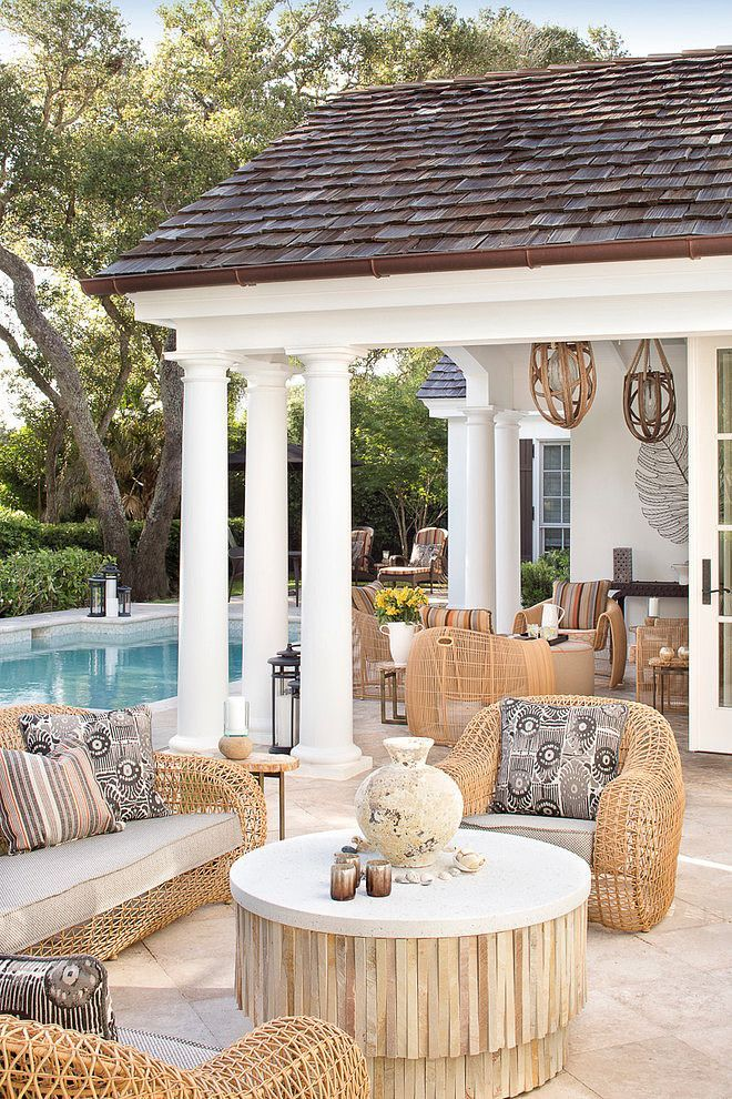 DIY Tips To Decorate Your Patio On A Budget. Outdoor Living SpacesOutdoor  ...