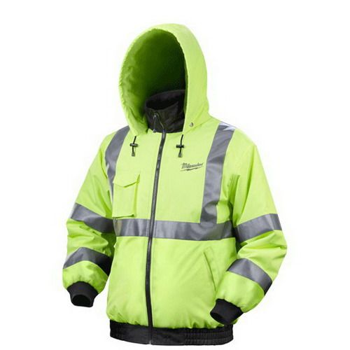 Milwaukee Electric Tools 2347 Xl Cold Weather Gear Crescent Electric Supply Company Heated Jacket Jackets Reflective Jacket