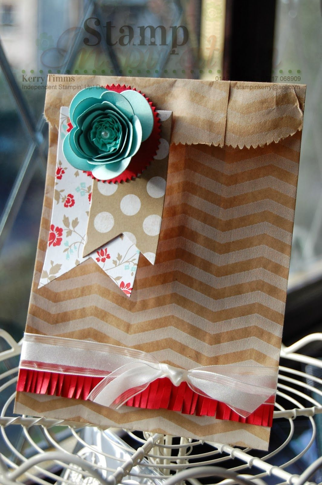 Sacchetti Carta Regalo Idea For Packaging Scrapbooking Project Ideas Craft