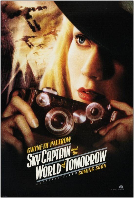 Sky Captain And The World Of Tomorrow 2004 Original   Etsy ...
