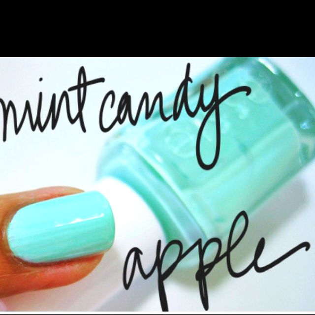 Mint candy apple by Essie | Extra tips | Pinterest | Menta y Caramelo
