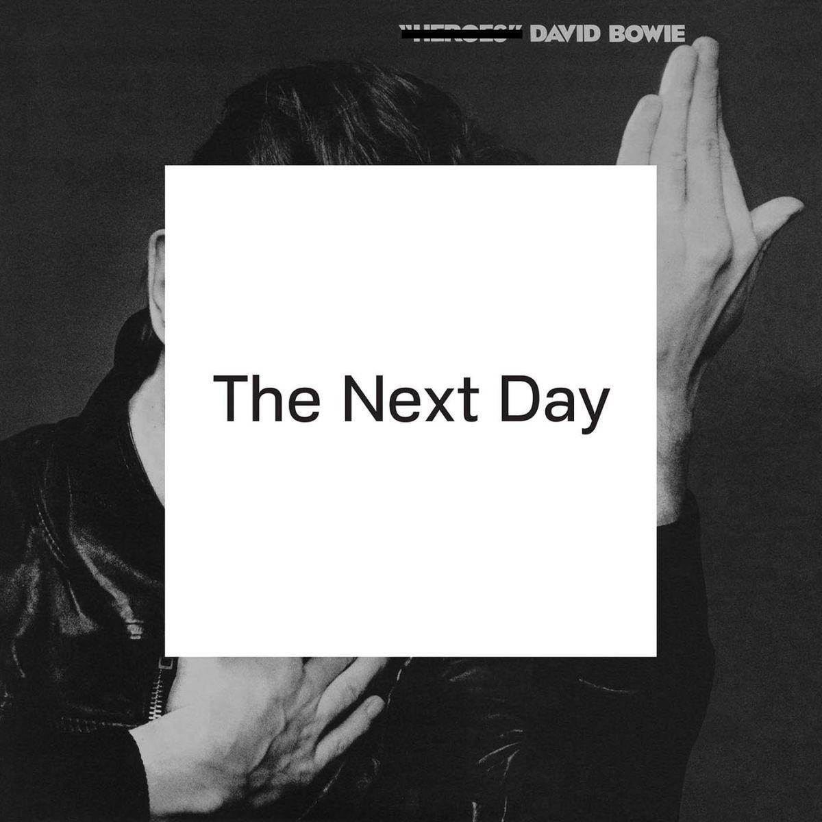 album cover art: david bowie - the next day [03/2013]