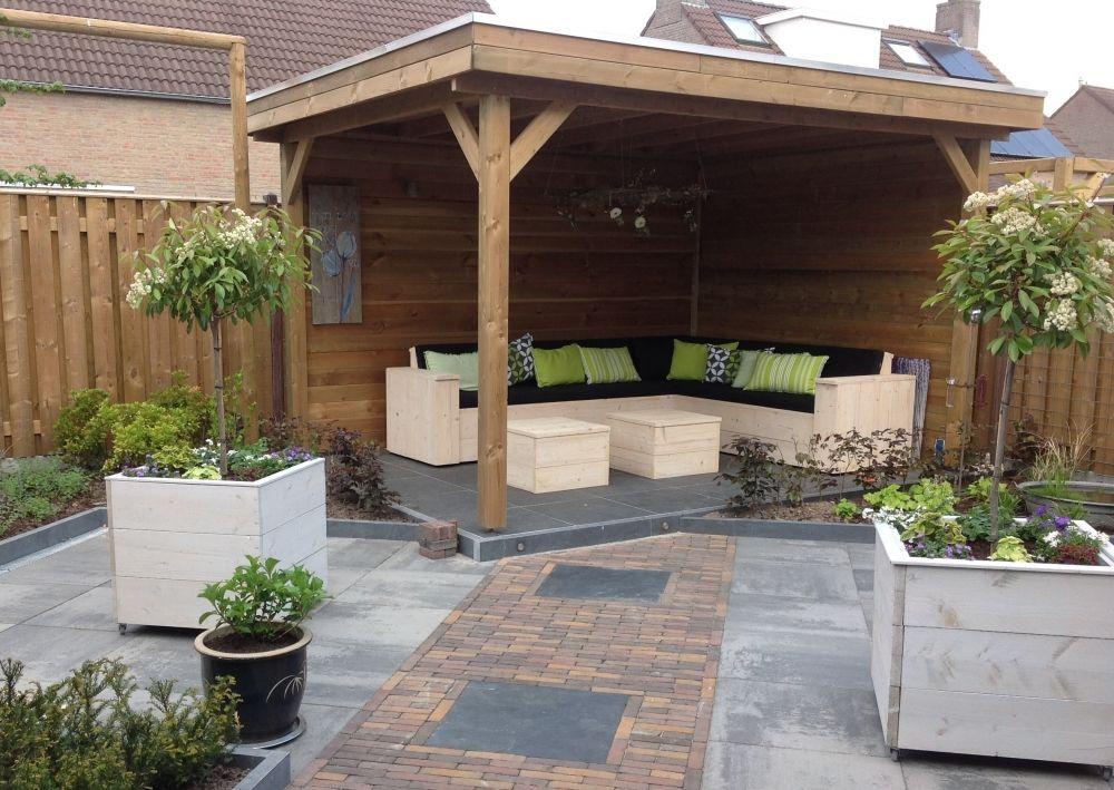 Houten overkapping bouwtekening google zoeken tuin pinterest bouwtekening zoeken en - Idee decoratie terras ...