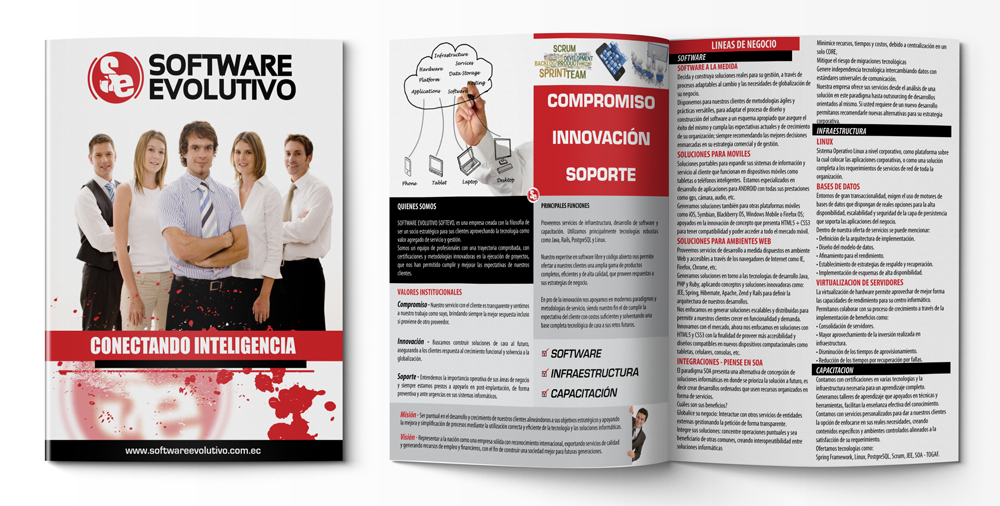 Software Evolutivo Brochure  HttpWwwRonwavedesignCom
