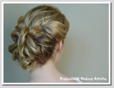 Wedding Hair: braided updo