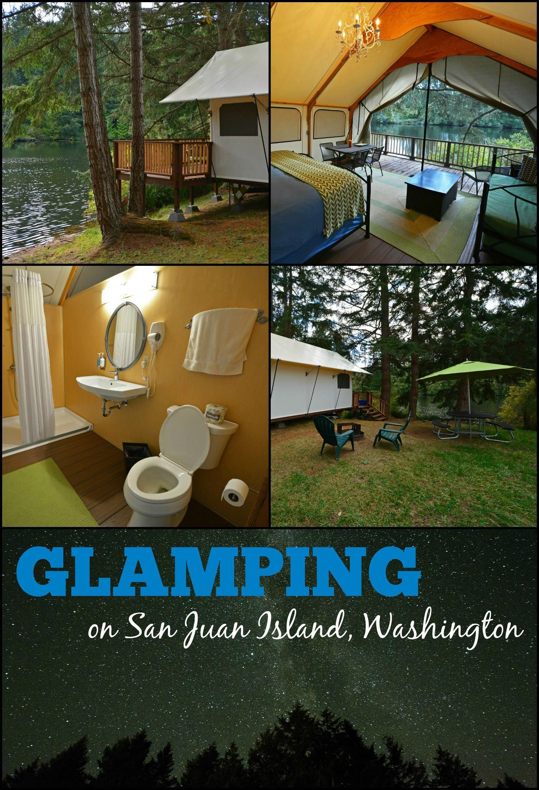 Glamping in the San Juan Islands is a must for your visit to the
