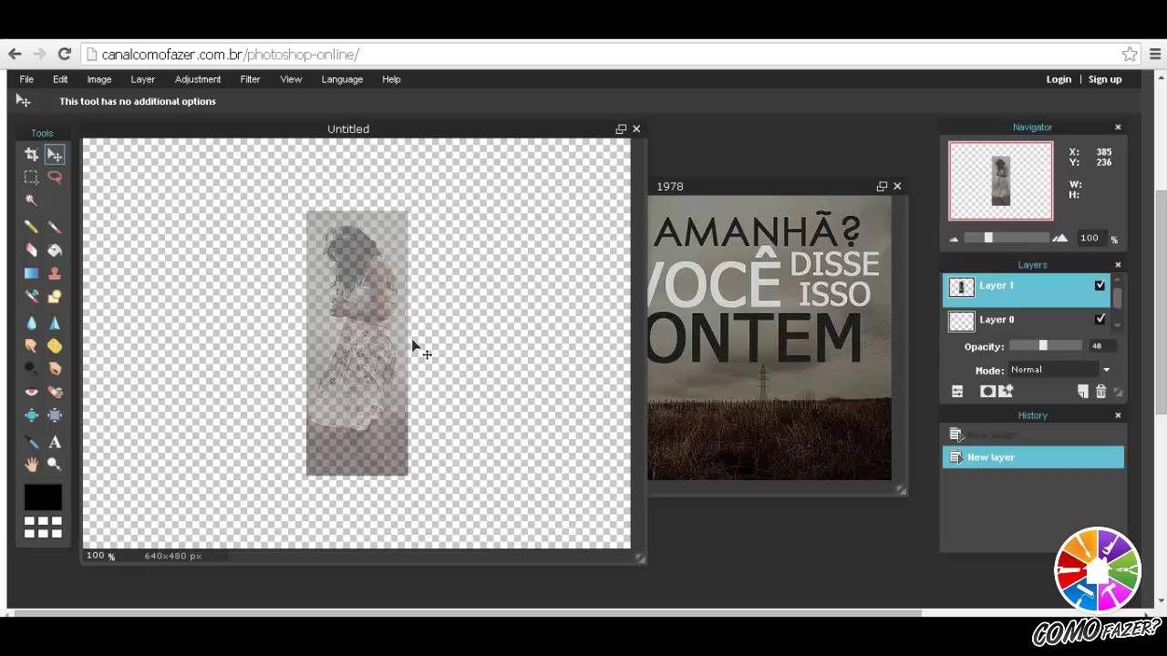 Photoshop Gratis Como Usar Online Sem Instalar Nada Photoshop