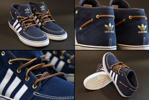 official photos c9a37 b2f2b Adidas Court Deck Mid