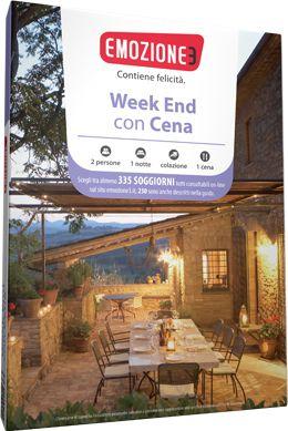Weekend con Cena | Cofanetto, Prima colazione e Soggiorni