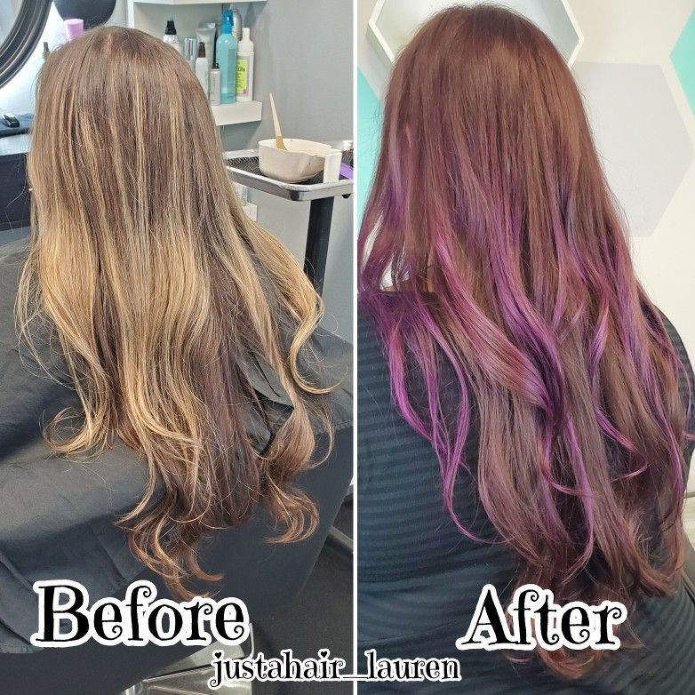 Agebeautiful 6nv With 5v Violet Hair Violet Hair Purple Hair Long Hair Styles