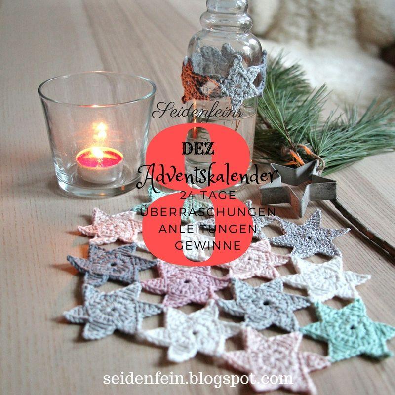 Pin Von Seidenfein Auf Weihnachts Diy Pinterest Häkeln Stern