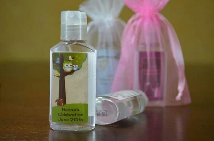 Personalised Hand Sanitizer Baby Shower Thank You Gifts Hand